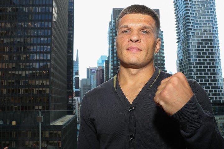 Сергей Деревянченко на профи-ринге одержал 13 побед при двух поражениях / фото: BoxingScene