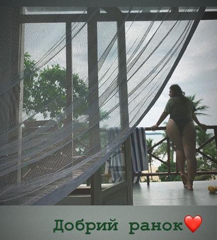 Зарицкая отдыхает на Шри-Ланке / фото instagram.com/kazka.band