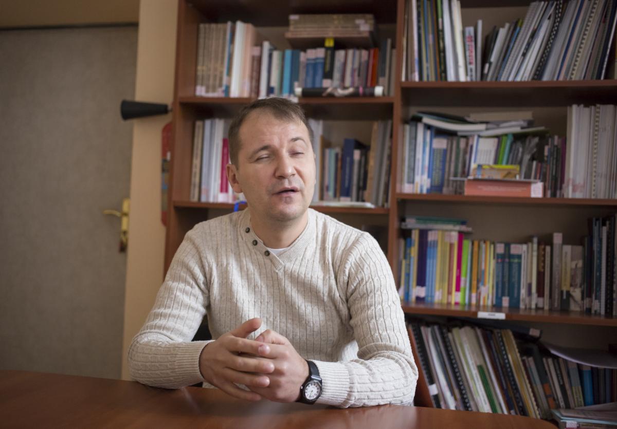 Богдан Мойса розровів, що мешканці окупованих територій, на жаль, навіть не підлягають соціальному захисту / УНІАН