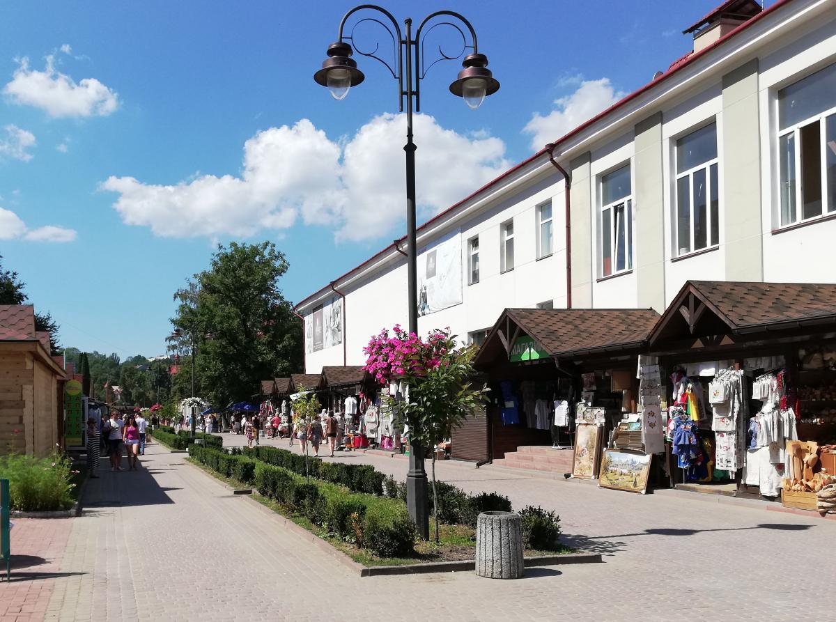 Бульвар Юрия Дрогобыча в Трускавце / Фото Марина Григоренко