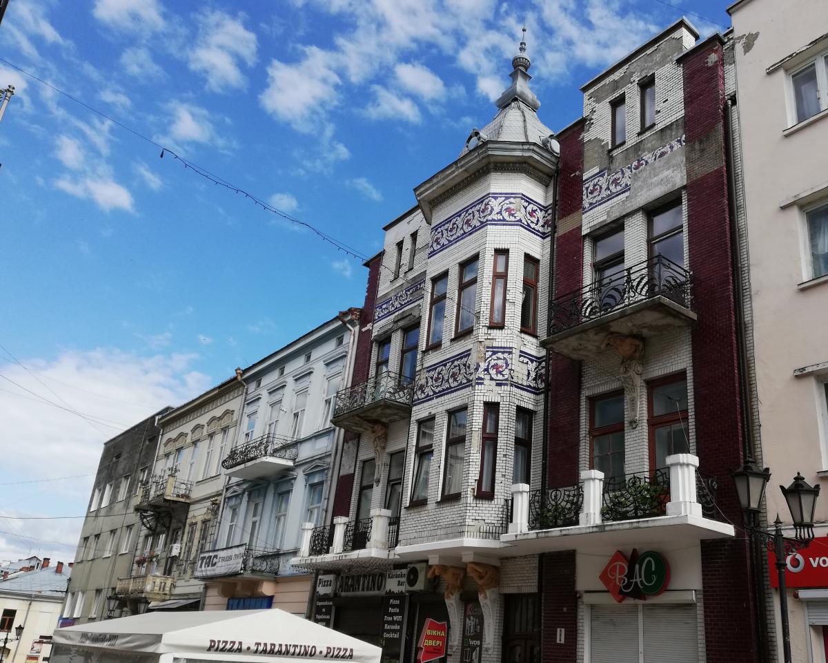 Улица Ивана Мазепы рядом с ратушей Дрогобыча / Фото Марина Григоренко