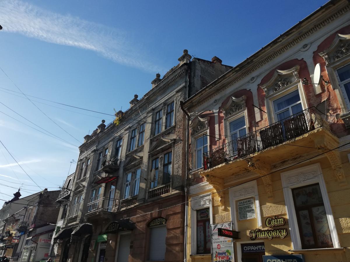 К сожалению, много зданий в Дрогобыче нуждаются в реставрации / Фото Марина Григоренко