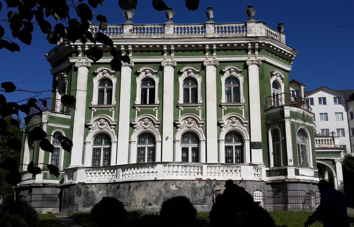 Вилла Бьянки, где ныне расположена художественная галерея Дрогобыча / Фото Марина Григоренко