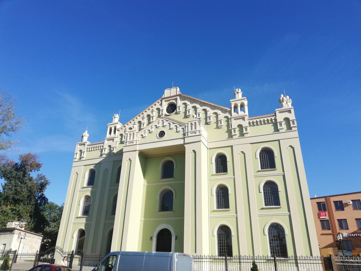 Хоральная синагога Дрогобыча / Фото Марина Григоренко
