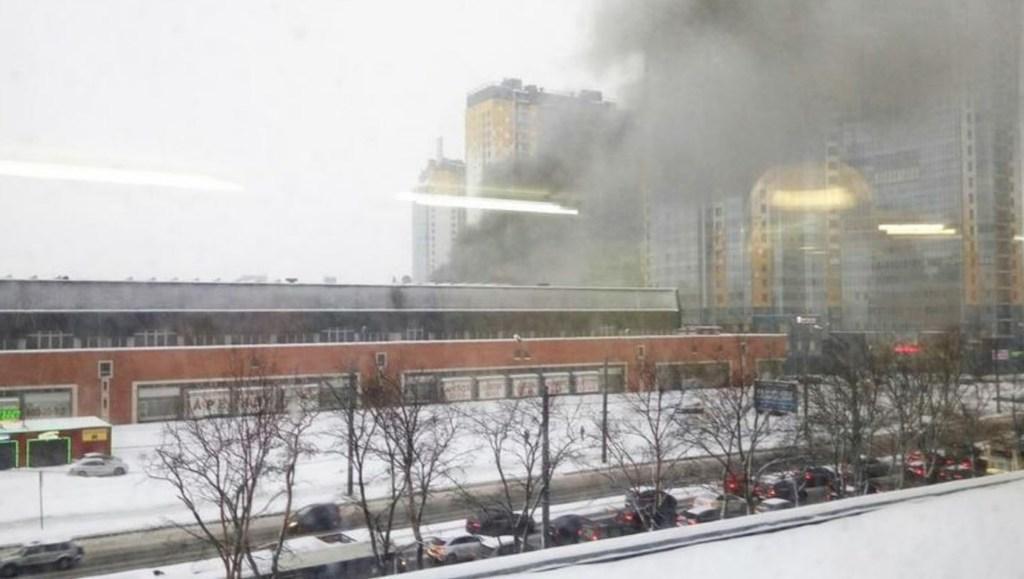 В России вспыхнул пожар на предприятии / фото govoritmoskva.ru