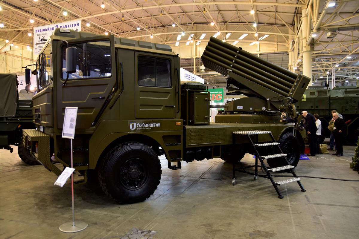 «Берест» установлен на новом шасси от «КрАЗ» - 5401НЕ с колесной формулой 4х4 / фото ukroboronprom.com.ua
