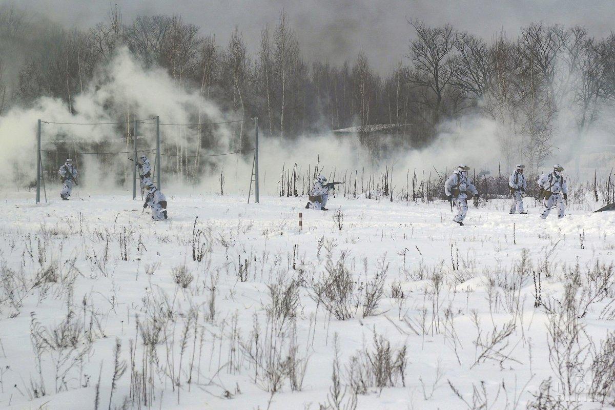 По данным разведки, 31 января, один оккупанта уничтожен, двое получили ранения / УНИАН