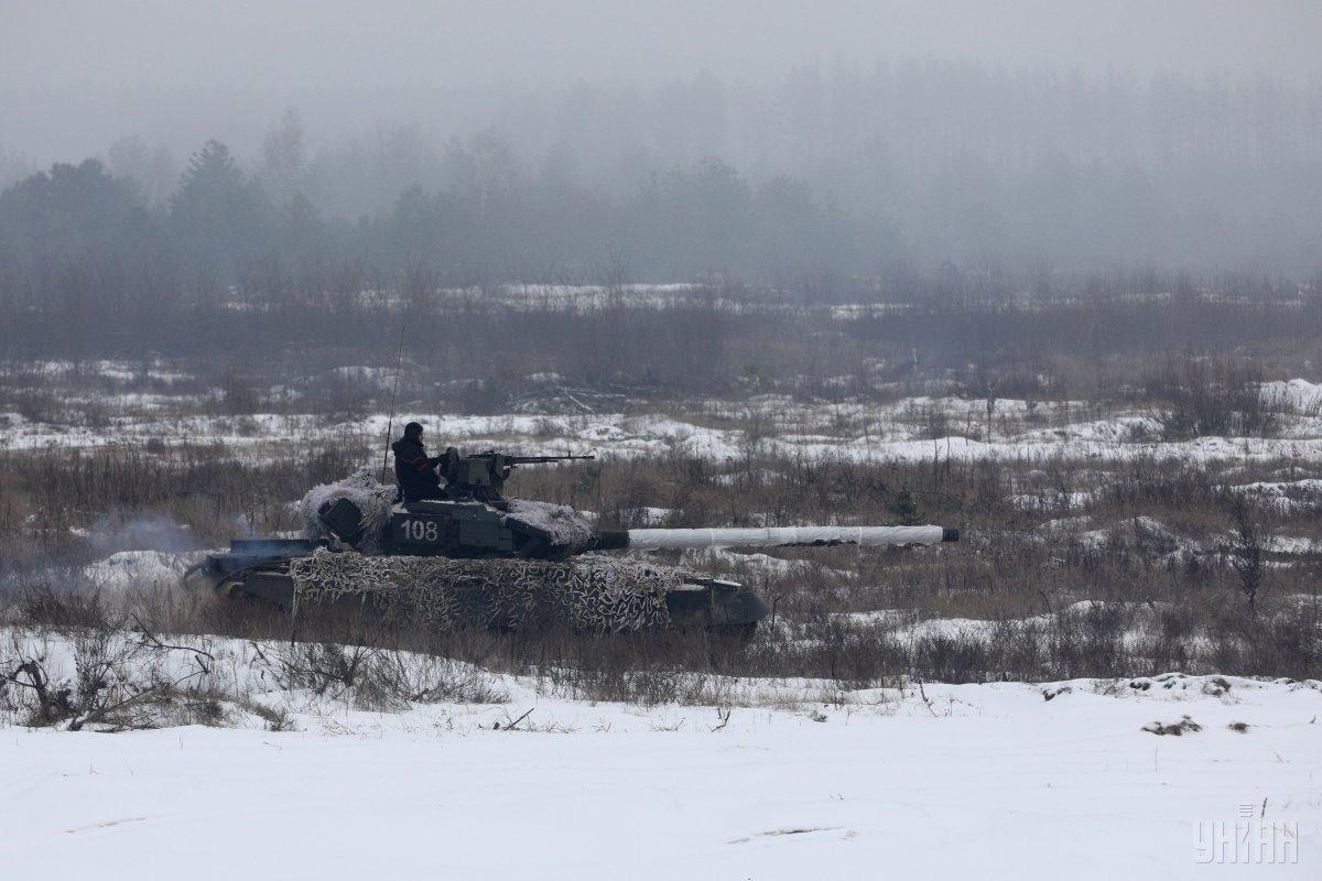 ОБСЄ виявила на окупованому Донбасі танки бойовиків / фото УНІАН
