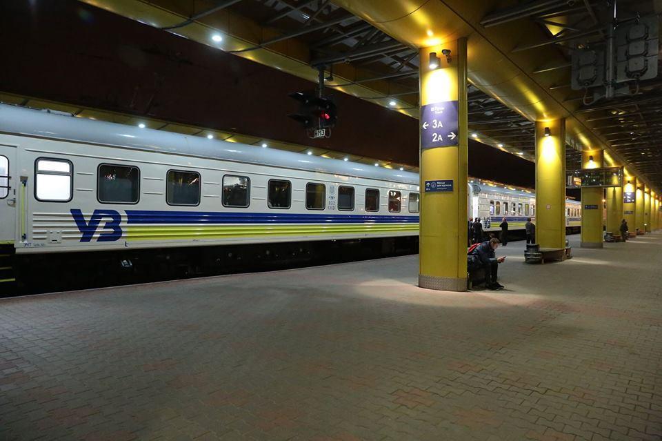 Сколько поездов УЗ будет курсировать в новогоднюю ночь / Фото facebook.com/Kravtsov.Evg