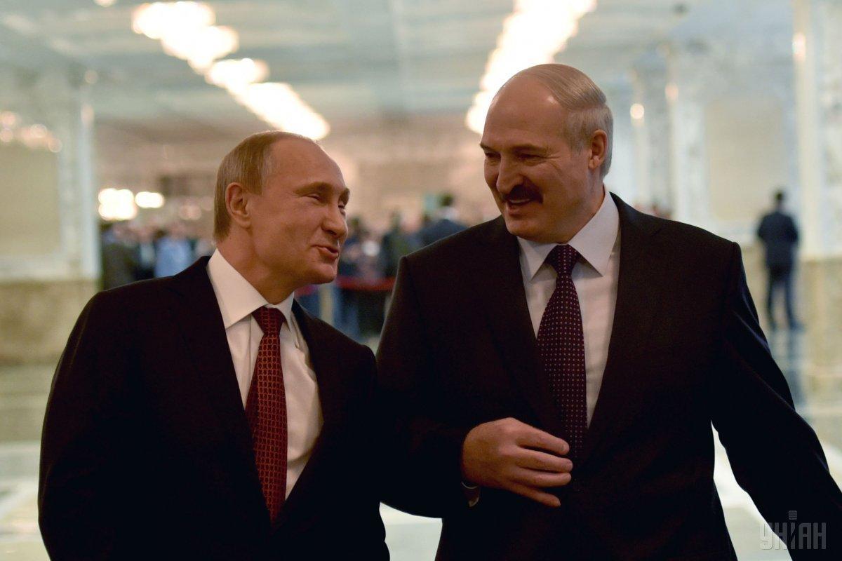 Владимир Путин и Александр Лукашенко / фото УНИАН