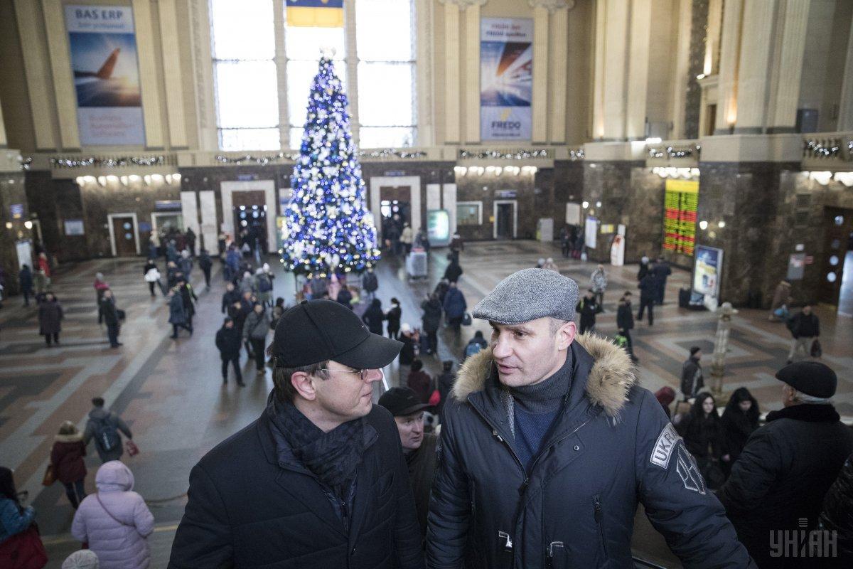 Центральный ж/д вокзал в Киеве будет передан в концессию / фото УНИАН