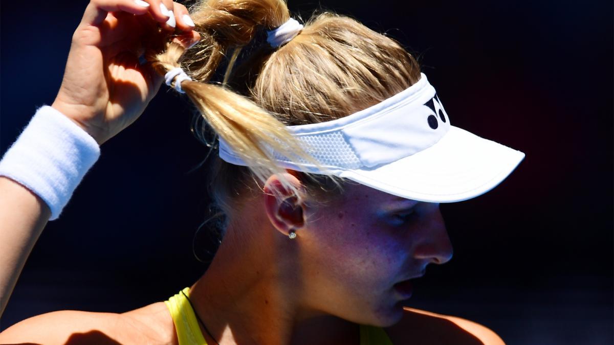 Даяна Ястремська програла у двох сетах / фото: Tennis Australia