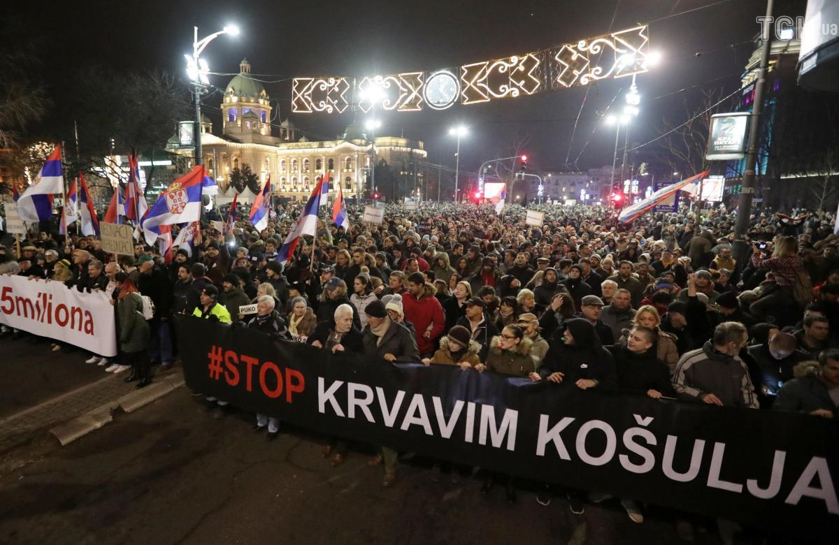 Протестующие хотят выборов, но свобода для них на первом месте / фото ТСН.ua