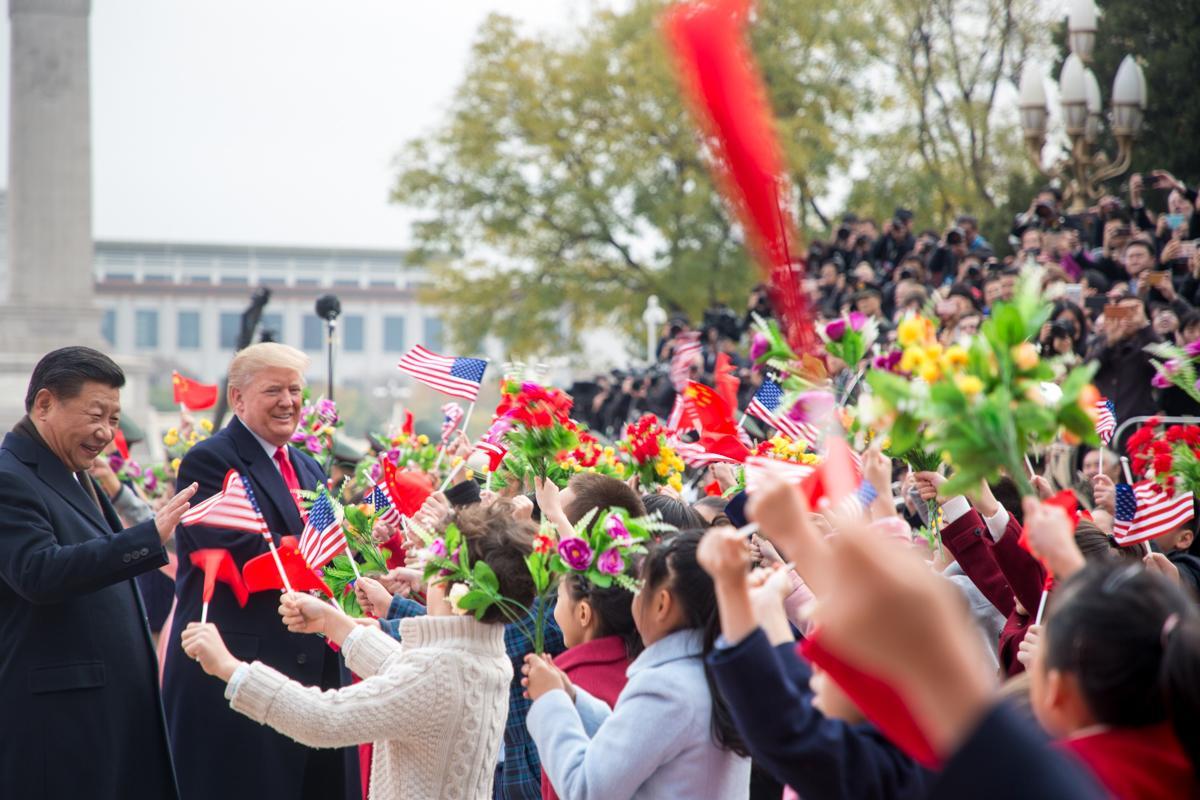 Несмотря на сотрудничество, торговые отношения США и Китая неидеальны / фото flickr.com/The White House