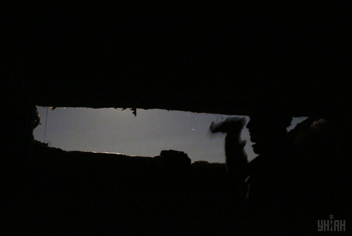 Силы ООС ответили на обстрелы оккупантов / фото УНИАН