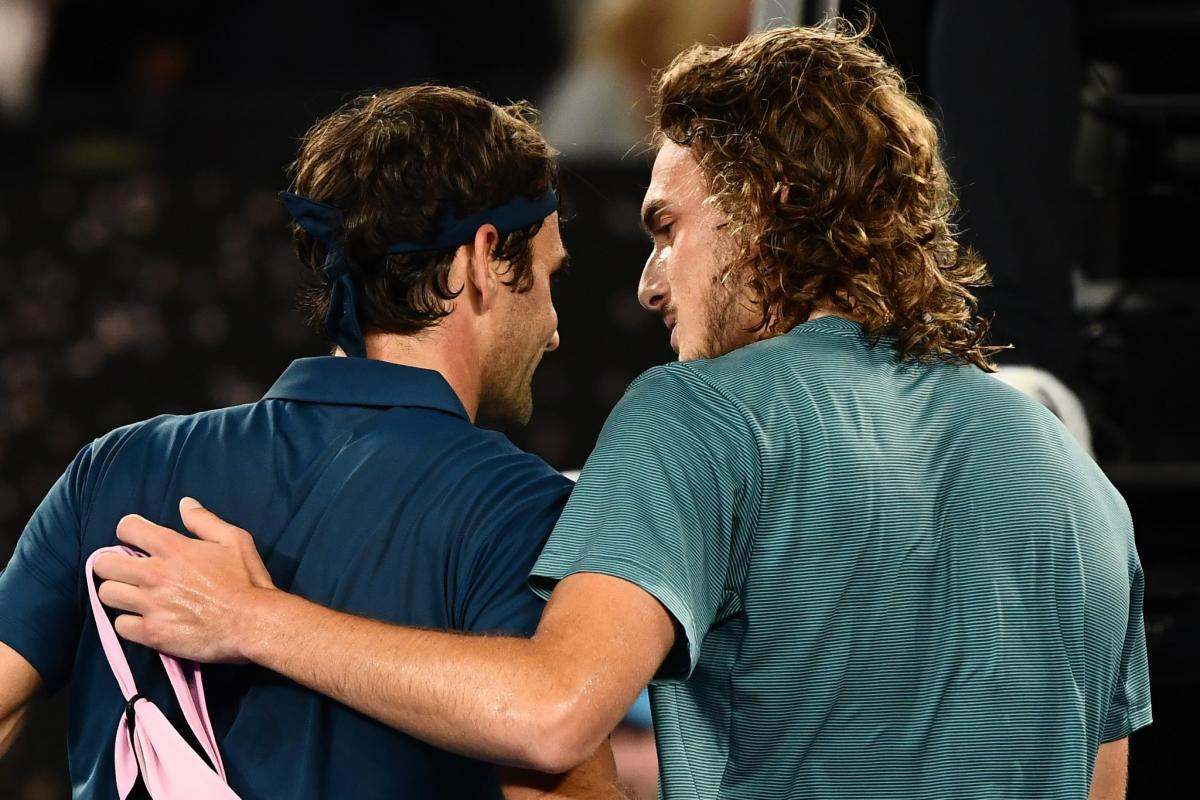 Роджер Федерер проиграл в матче 1/8 финала Australian Open / twitter.com/australianopen