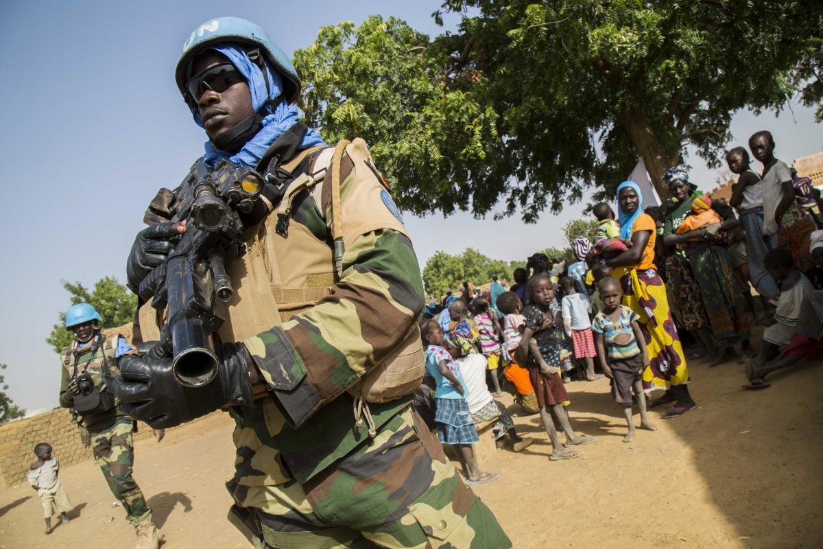 На солдат миротворческой миссии Minusma в Мали напали исламисты / фото minusma.unmissions.org