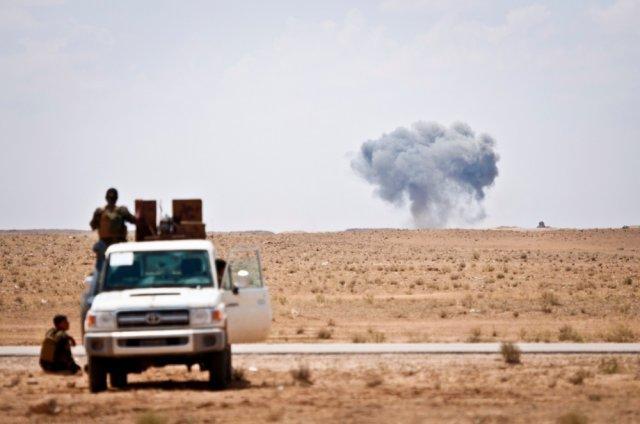 Какие потери понесли стороны, неизвестно,  / фото www.army.mil