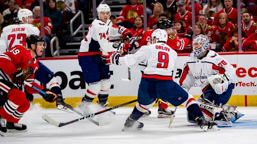 Вашингтон затянул серию поражений в НХЛ / nhl.com
