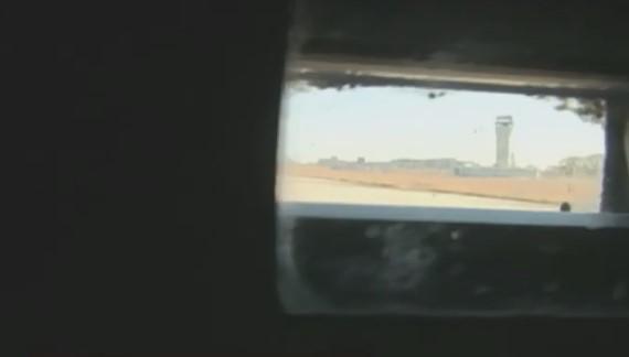 Бойцы продолжают держать позиции возле аэропорта / скриншот видео ТСН