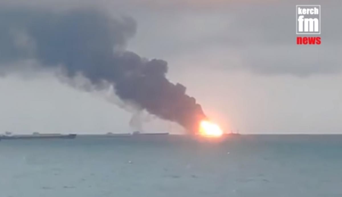 Стали відомі нові деталі смертельноїпожежі в Чорному морі / Скріншот - Youtube, Kerch.FM