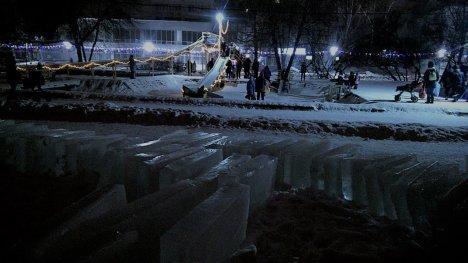 Попробовать свое умение работы с ледяными глыбами в последующие дни смогут все желающие / Фото из открытых источников
