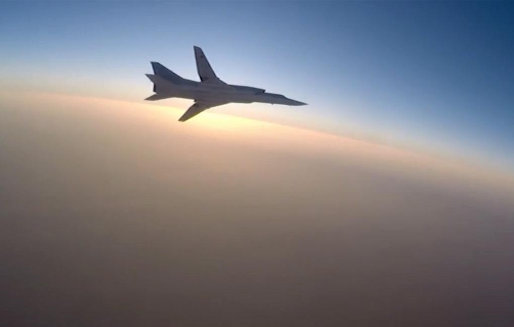 Бомбардировщик Ту-22М3 потерпел катастрофу при посадке / фото Минобороны РФ