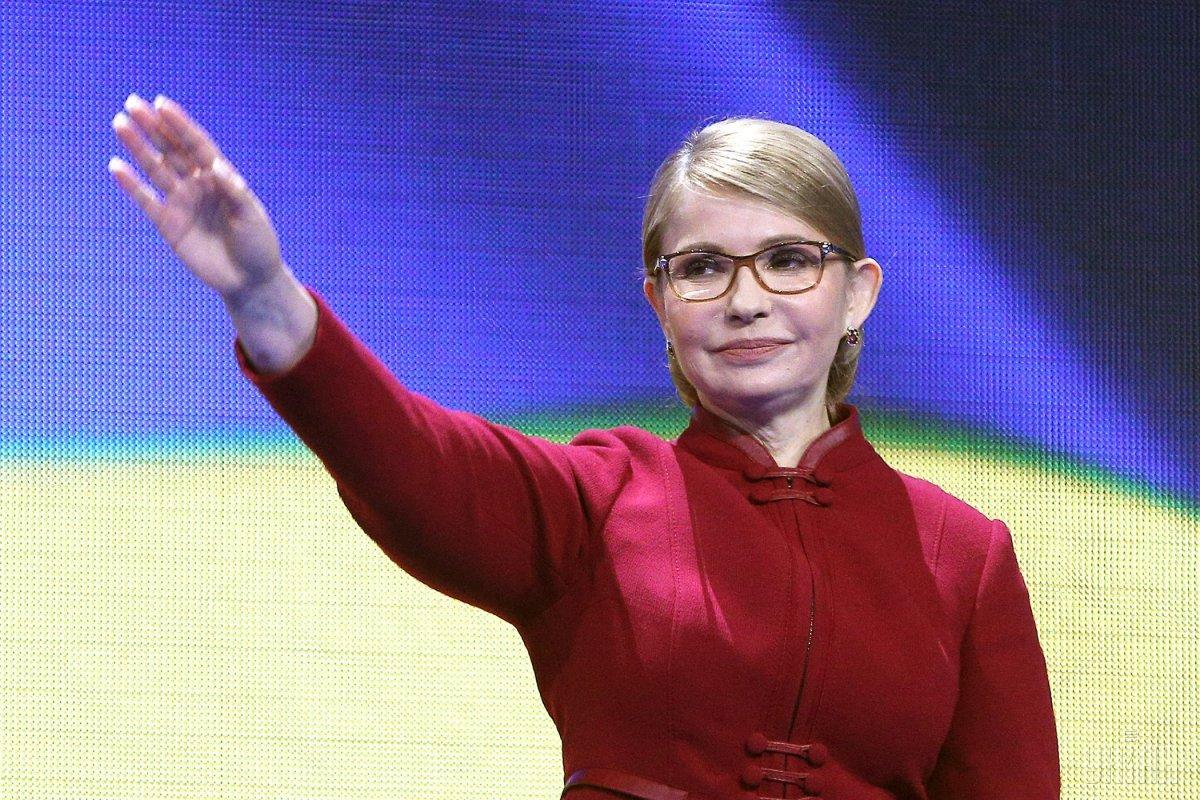 За Тимошенко готовы проголосовать более 10% респондентов / Фото УНИАН