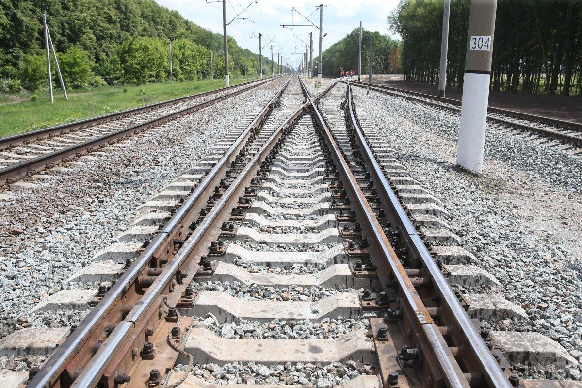 В Одесі невідомі намагались завадити руху потягу/ фото УНІАН