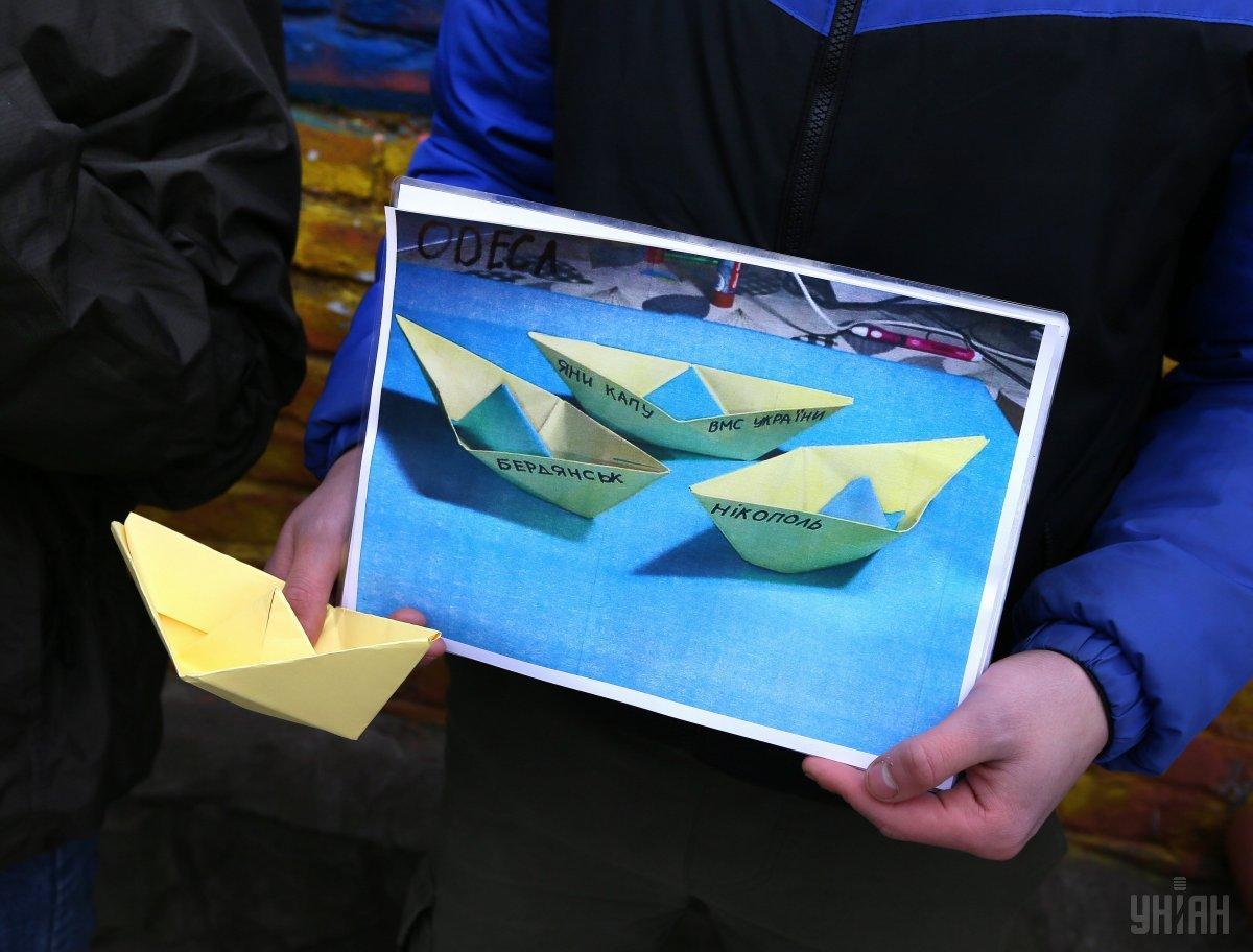 Вв позові виражається вимога до РФ негайно повернути українських моряків на Батьківщину / фото УНІАН