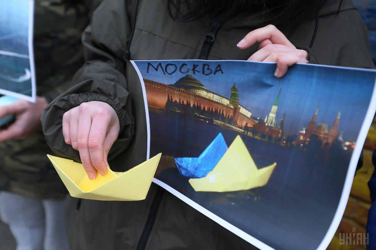 У Москві суд продовжив арешт 24 військовополоненим морякам ще на три місяці / фото УНІАН