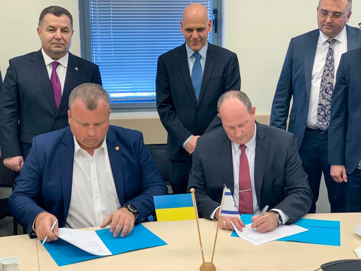 «Укроборонпром» подписал меморандум о сотрудничестве с израильской Elbit Systems / фото mil.gov.ua