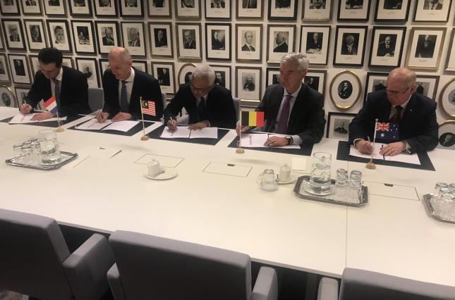 Расследование по MH17 финансово поддержат пять стран /  Министерство иностранных дел Нидерландов