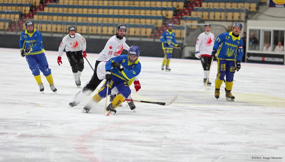 Збірна України набрала 3 очки в трьох матчах ЧС з хокею з м'ячем / bandy2019.com