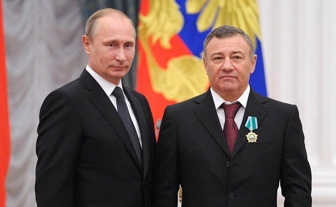 Друзья Путина Ротенберги продают самолеты / фото ru.m.wikipedia.org