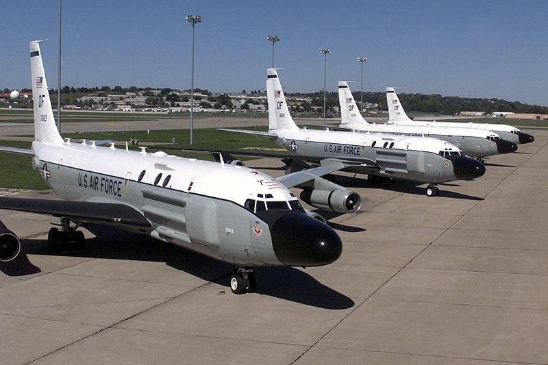 Boeing RC-135 / фото SRA JEREMY SMITH, USAF