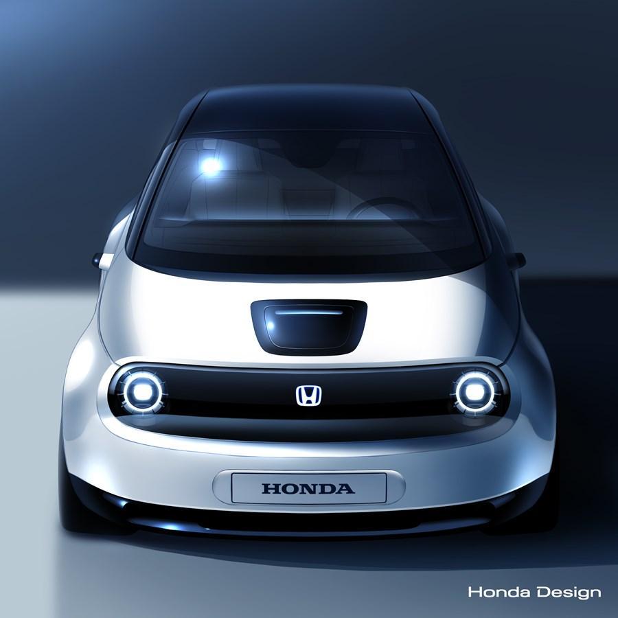 Honda представит новый электромобиль / фото hondanews.eu