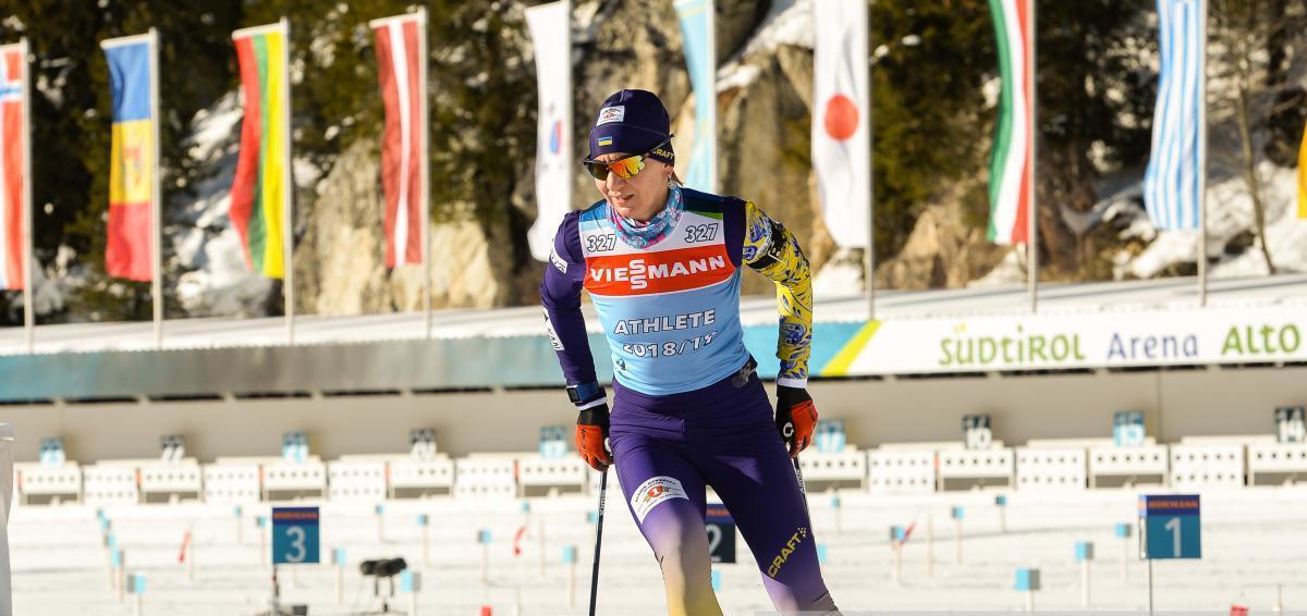 Елена Пидгрушная вывела Украину на шестое место / biathlon.com.ua