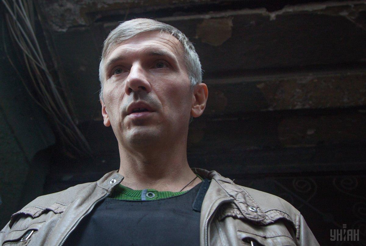 Одесский активист Олег Михайлик / фото УНИАН