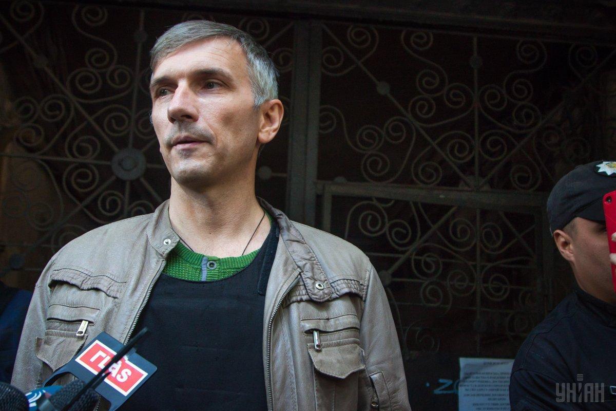 Михайлик рассказал, что процесс его восстановления может занять от полугода до двух лет / фото УНИАН