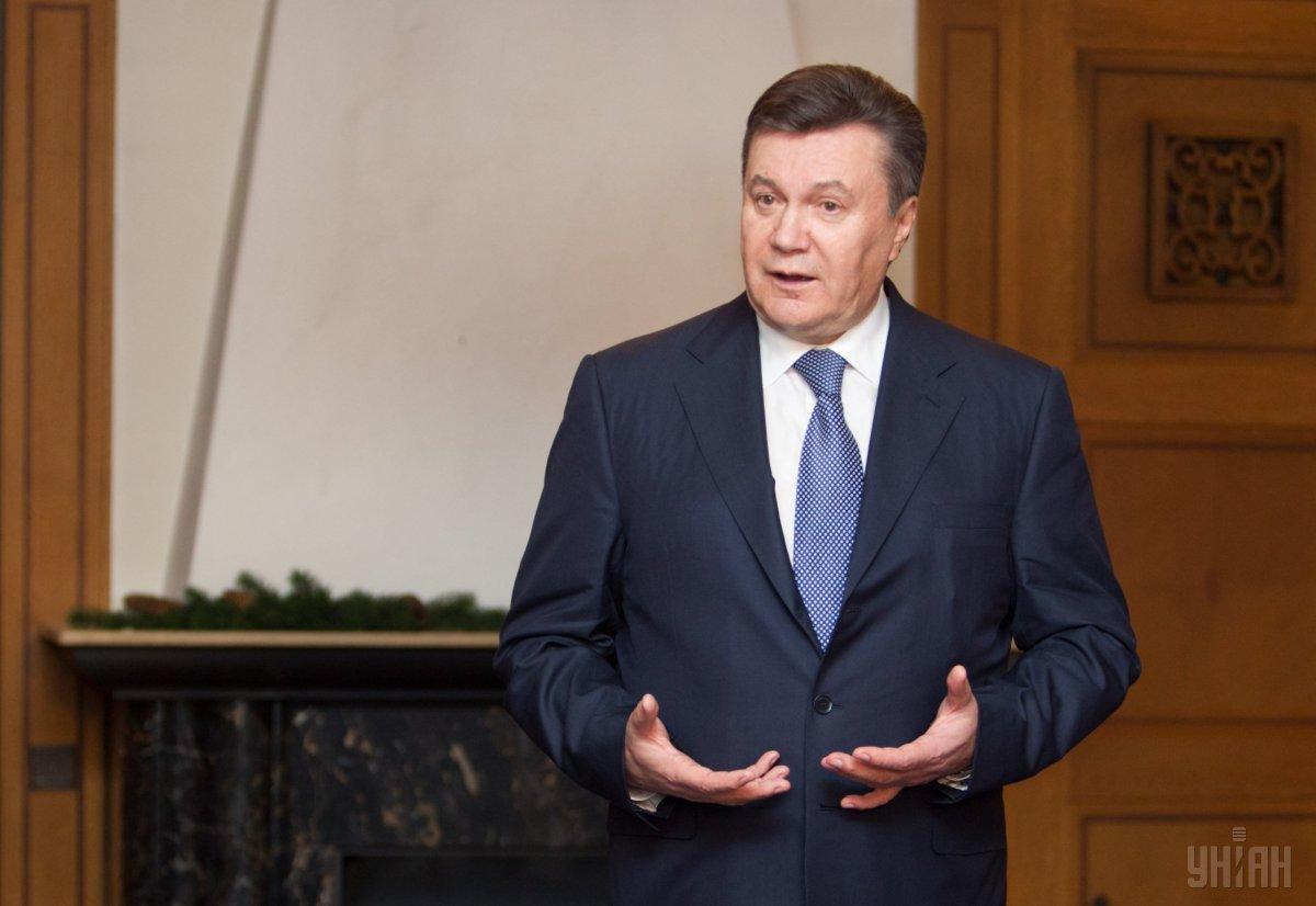Янукович так и не выступил в суде с последним словом из-за якобы полученнойтравмы/ фото УНИАН