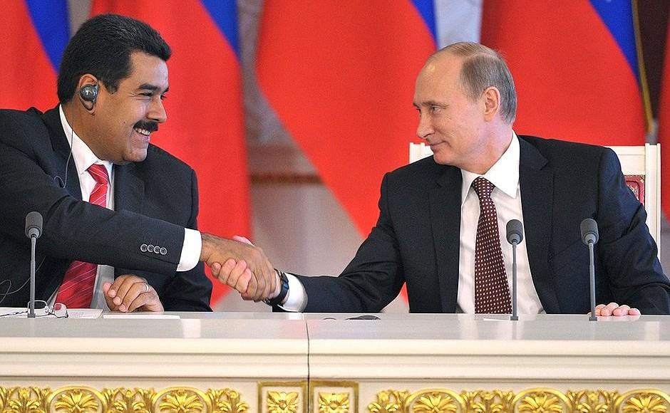 Мадуро и Путин / фото Kremlin.ru