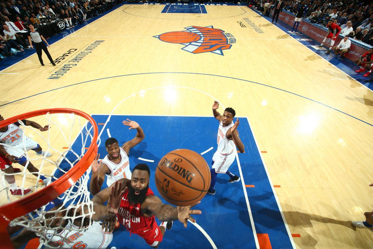 Нью-Йорк - Х'юстон / NBA.com