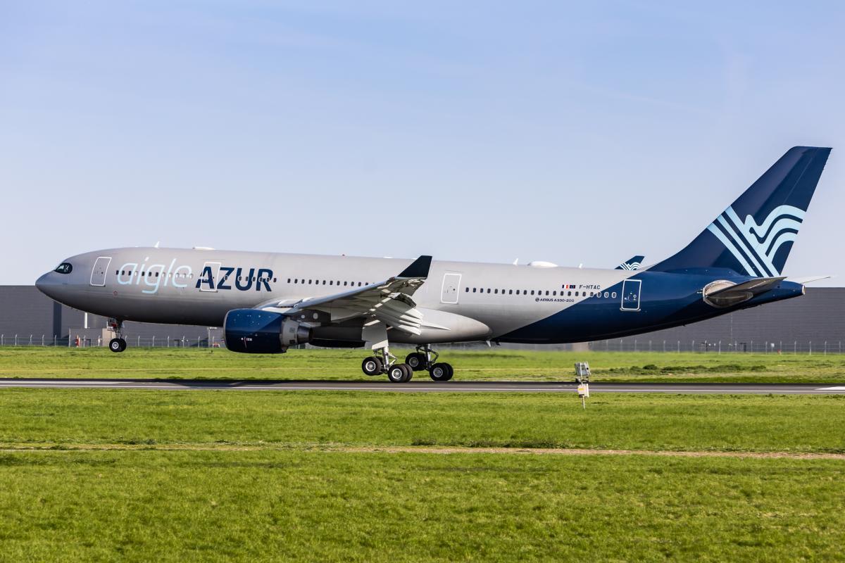 Aigle Azur має намір літати до Києва з 18 квітня / фото aigle-azur.com