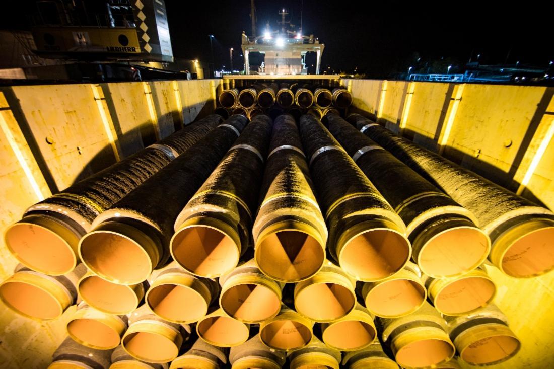 """Вашингтон может заставить Берлин отказаться от """"Северного потока-2"""" / фото gazprom.ru"""