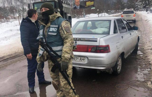 Пограничники проводят масштабную спецоперацию на Закарпатье / фото Mukachevo.net