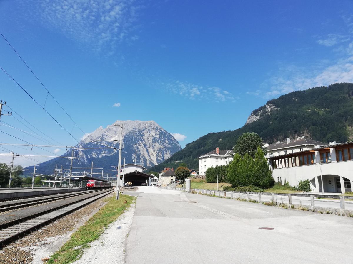 Путешествовать по Австрии на поезде очень удобно и относительно недорого / Фото Марина Григоренко