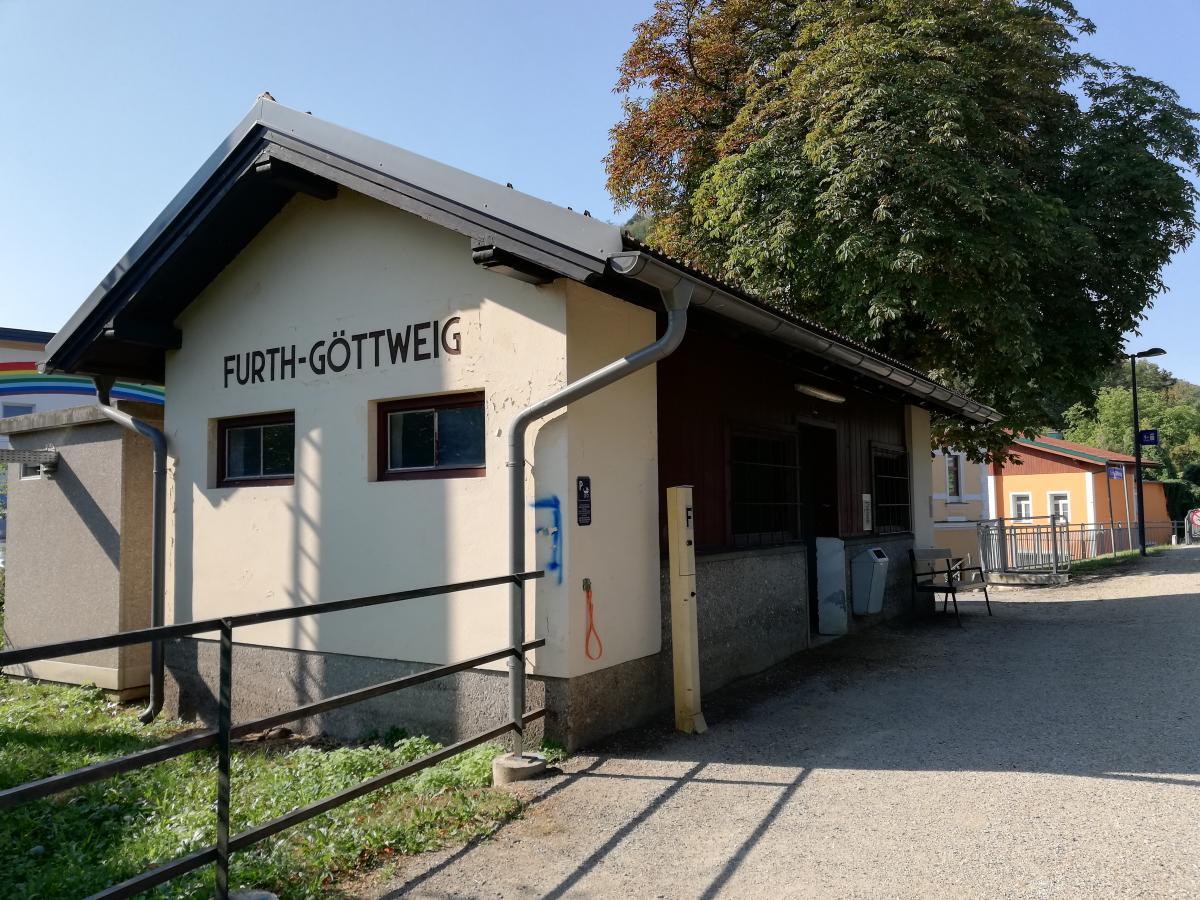 """Типичный """"вокзал"""" в австрийской глубинке / Фото Марина Григоренко"""