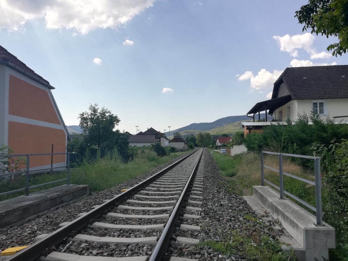 В Австрии жд-станции есть во многих даже самых маленьких городках / Фото Марина Григоренко