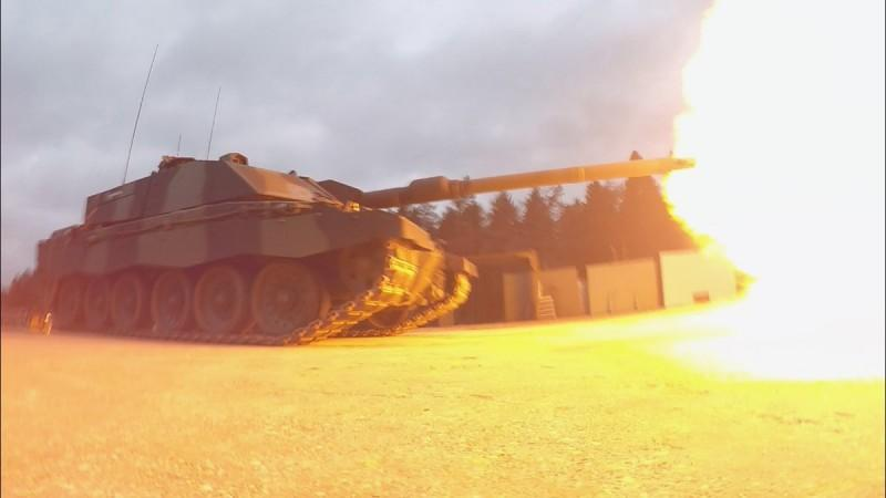 В качестве мишени использовался танк Т-72 / фото andrei-bt.livejournal.com